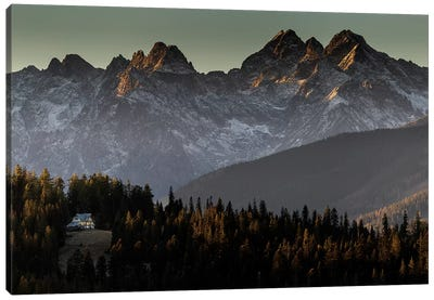 Europe, Poland, Lesser Poland, Tatra Mountains / Podhale II Canvas Art Print