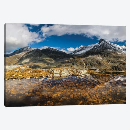 Austria, Salzburgerland, Uttendorf. Weißsee Glacier World. Canvas Print #LAJ277} by Mikolaj Gospodarek Canvas Wall Art