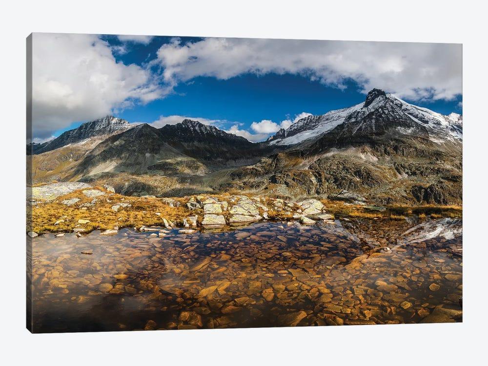 Austria, Salzburgerland, Uttendorf. Weißsee Glacier World. by Mikolaj Gospodarek 1-piece Canvas Wall Art