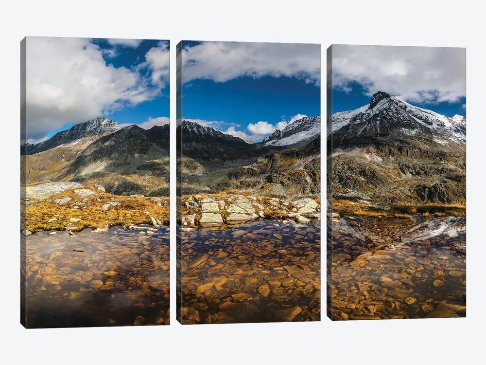 Austria, Salzburgerland, Uttendorf. Weißsee Glacier World. by Mikolaj Gospodarek 3-piece Canvas Art