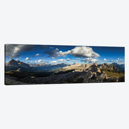 Europe, Italy, Alps, Dolomites, View From Rifugio Nuvolau Canvas Print #LAJ282} by Mikolaj Gospodarek Canvas Artwork