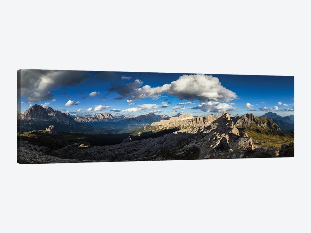 Europe, Italy, Alps, Dolomites, View From Rifugio Nuvolau by Mikolaj Gospodarek 1-piece Canvas Art