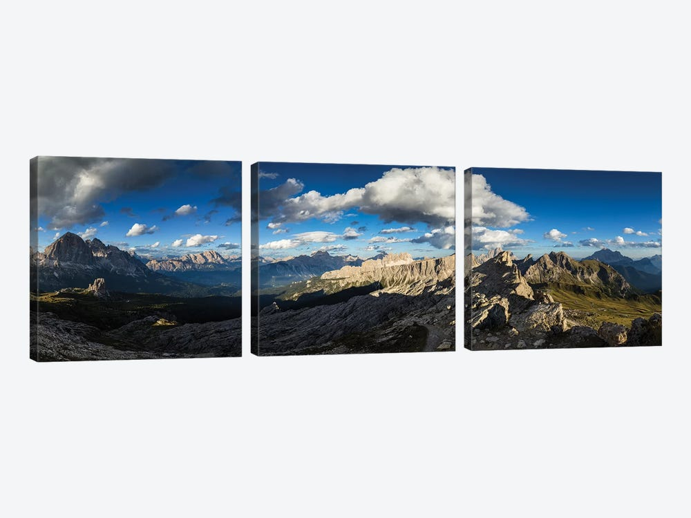 Europe, Italy, Alps, Dolomites, View From Rifugio Nuvolau by Mikolaj Gospodarek 3-piece Canvas Artwork