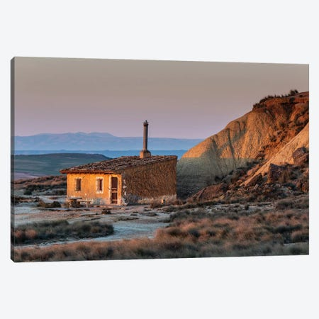 Europe, Spain, Bardenas Reales II Canvas Print #LAJ284} by Mikolaj Gospodarek Art Print