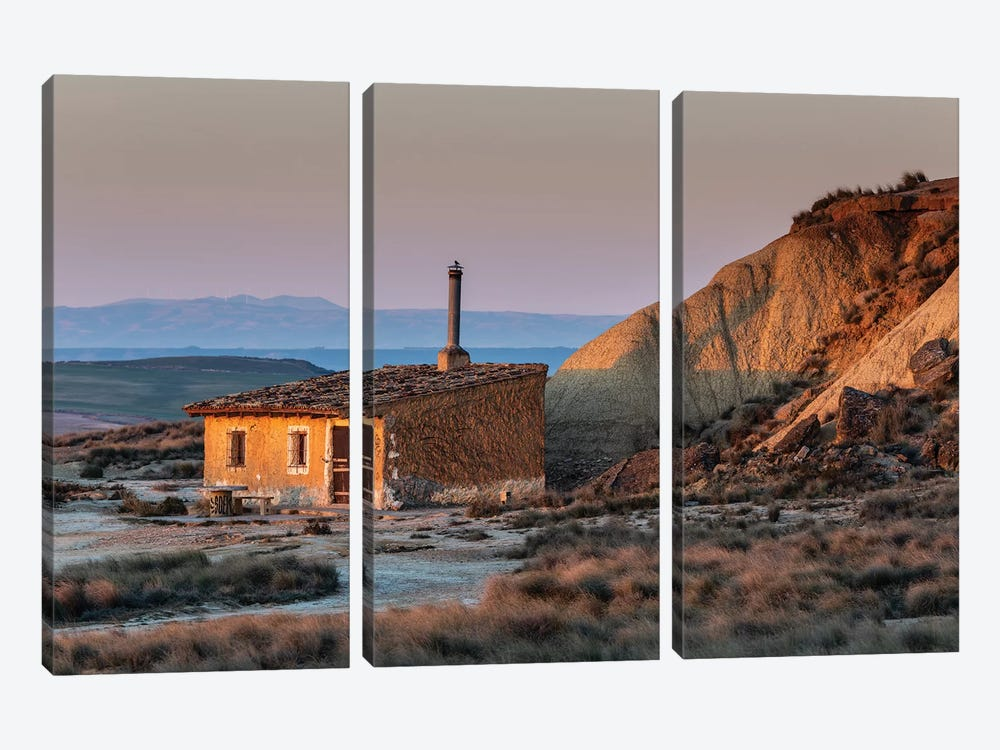 Europe, Spain, Bardenas Reales II by Mikolaj Gospodarek 3-piece Canvas Art