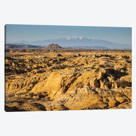 Europe, Spain, Bardenas Reales III Canvas Print #LAJ285} by Mikolaj Gospodarek Art Print