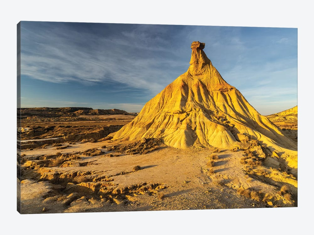 Europe, Spain, Bardenas Reales, Castil De Tierra I by Mikolaj Gospodarek 1-piece Canvas Art