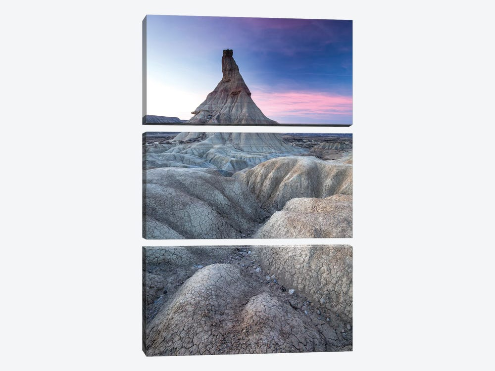 Europe, Spain, Bardenas Reales, Castil De Tierra III by Mikolaj Gospodarek 3-piece Canvas Wall Art