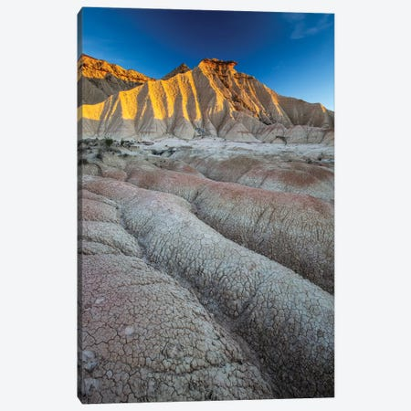 Europe, Spain, Bardenas Reales, Pisquerra I Canvas Print #LAJ289} by Mikolaj Gospodarek Canvas Wall Art