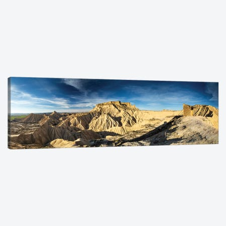 Europe, Spain, Bardenas Reales, Pisquerra VII Canvas Print #LAJ295} by Mikolaj Gospodarek Canvas Wall Art