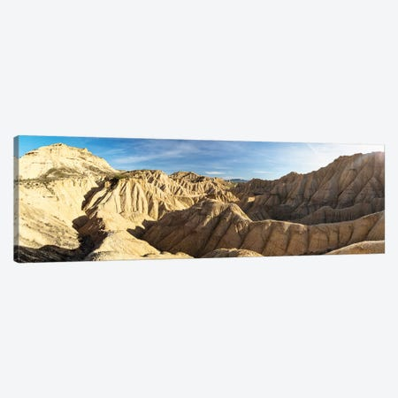 Europe, Spain, Bardenas Reales, Pisquerra VIII Canvas Print #LAJ296} by Mikolaj Gospodarek Canvas Artwork