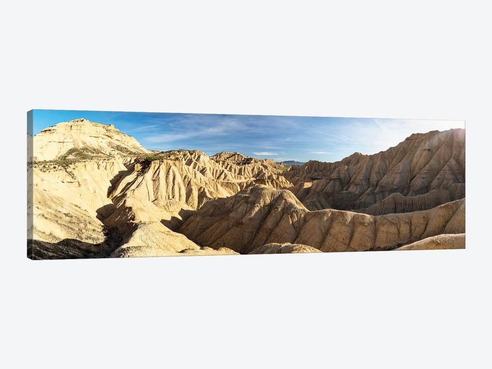 Europe, Spain, Bardenas Reales, Pisquerra VIII by Mikolaj Gospodarek 1-piece Canvas Print