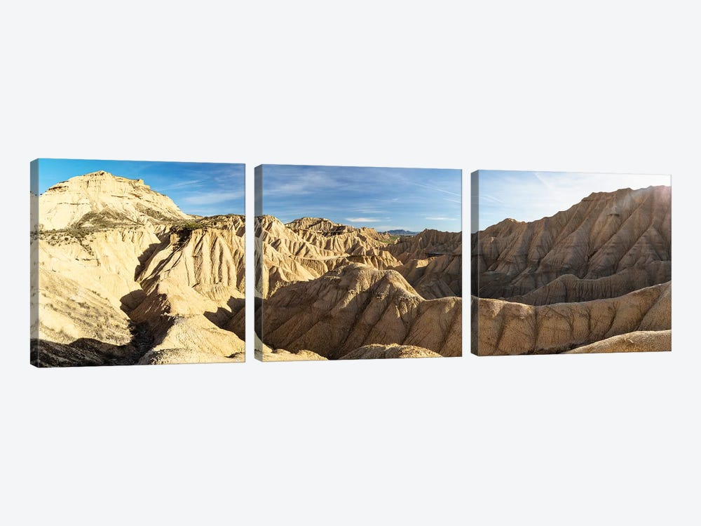 Europe, Spain, Bardenas Reales, Pisquerra VIII by Mikolaj Gospodarek 3-piece Art Print
