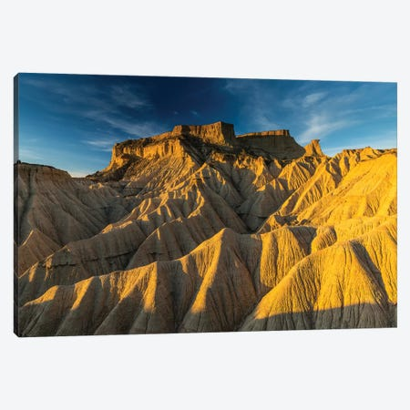 Europe, Spain, Bardenas Reales, Pisquerra XI Canvas Print #LAJ299} by Mikolaj Gospodarek Canvas Art Print