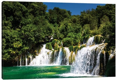 Croatia, Krka National Park Canvas Art Print