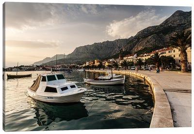 Croatia, Makarska Canvas Art Print