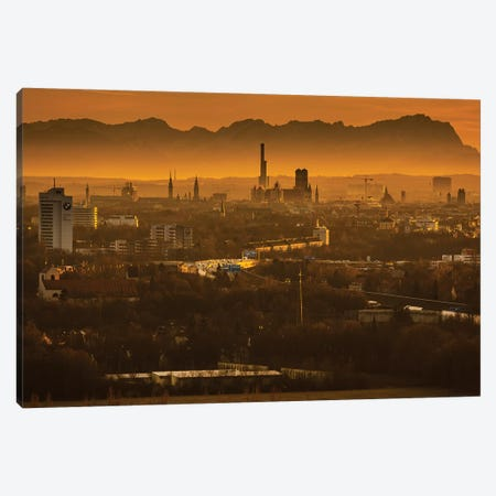 Germany, Alps, Bavaria, Munich Canvas Print #LAJ322} by Mikolaj Gospodarek Art Print