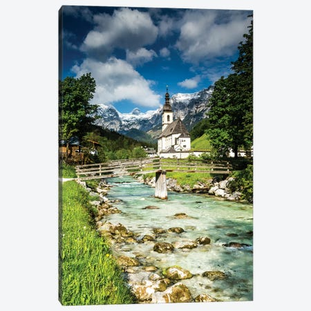 Germany, Alps, Bavaria, Ramsau bei Berchtesgaden Canvas Print #LAJ323} by Mikolaj Gospodarek Art Print