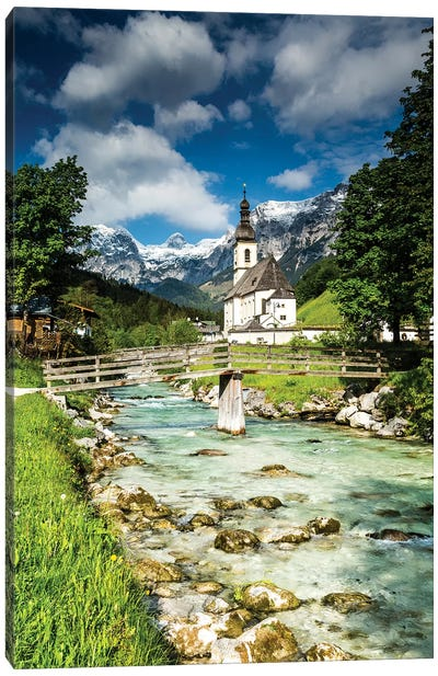 Germany, Alps, Bavaria, Ramsau bei Berchtesgaden Canvas Art Print