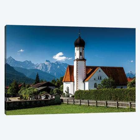 Germany, Alps, Bavaria, Wallgau Canvas Print #LAJ325} by Mikolaj Gospodarek Canvas Wall Art