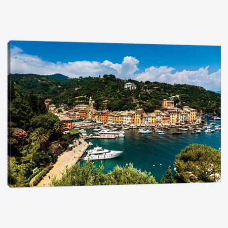 Italy, Portofino I Canvas Print #LAJ327} by Mikolaj Gospodarek Canvas Art