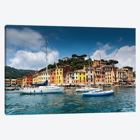 Italy, Portofino II Canvas Print #LAJ328} by Mikolaj Gospodarek Art Print