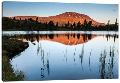 Norway, Gaustatoppen Canvas Art Print