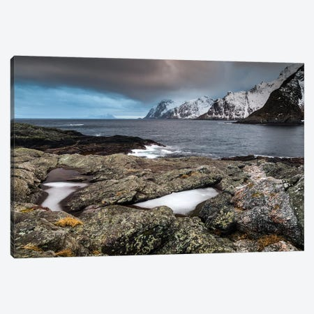 Norway, Lofoten, Å, Moskenes II Canvas Print #LAJ334} by Mikolaj Gospodarek Canvas Print