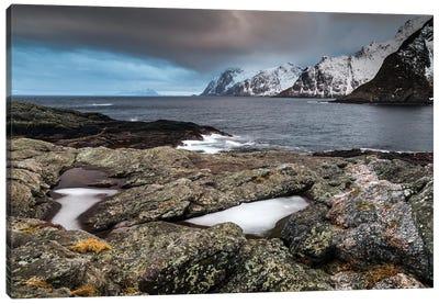 Norway, Lofoten, Å, Moskenes II Canvas Art Print