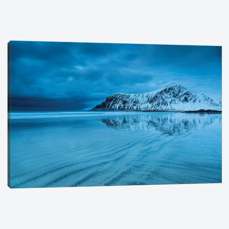 Norway, Lofoten, Flakstad II Canvas Print #LAJ336} by Mikolaj Gospodarek Art Print