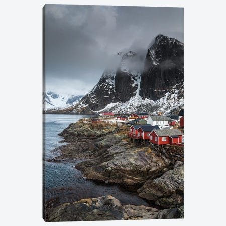 Norway, Lofoten, Hamnoy Canvas Print #LAJ337} by Mikolaj Gospodarek Canvas Print