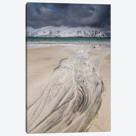 Norway, Lofoten, Ramberg Canvas Print #LAJ338} by Mikolaj Gospodarek Canvas Wall Art