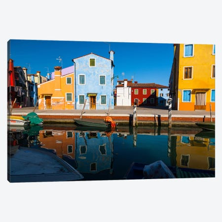 Italy, Venice, Burano Canvas Print #LAJ33} by Mikolaj Gospodarek Canvas Wall Art