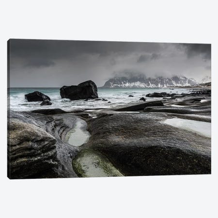 Norway, Lofoten, Uttakleiv I Canvas Print #LAJ343} by Mikolaj Gospodarek Canvas Art Print