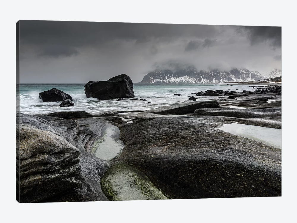 Norway, Lofoten, Uttakleiv I by Mikolaj Gospodarek 1-piece Canvas Artwork