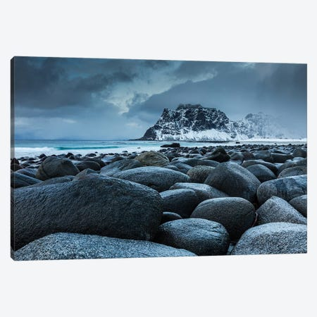 Norway, Lofoten, Uttakleiv II Canvas Print #LAJ344} by Mikolaj Gospodarek Canvas Artwork