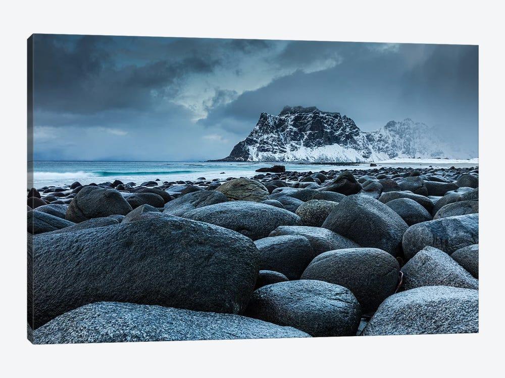 Norway, Lofoten, Uttakleiv II by Mikolaj Gospodarek 1-piece Canvas Art Print