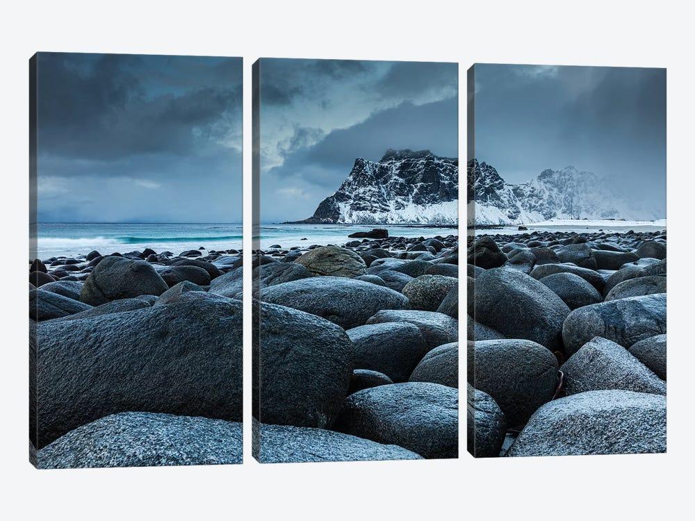 Norway, Lofoten, Uttakleiv II by Mikolaj Gospodarek 3-piece Art Print