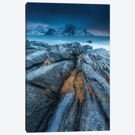 Norway, Lofoten, Vareid Canvas Print #LAJ345} by Mikolaj Gospodarek Canvas Wall Art