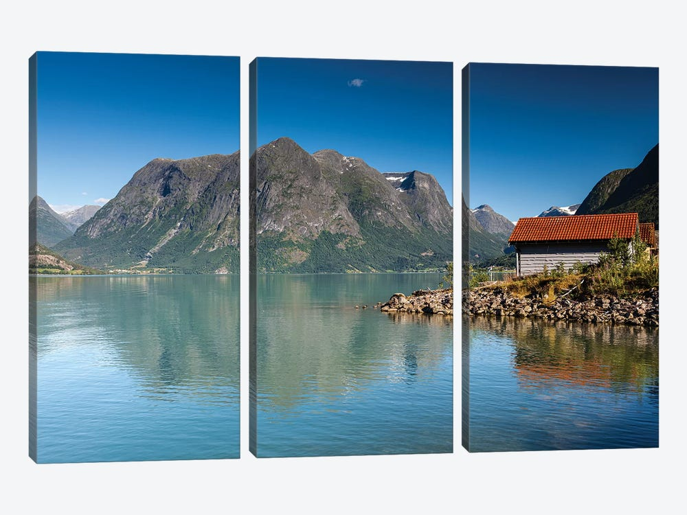Norway, Stryn III by Mikolaj Gospodarek 3-piece Canvas Art Print