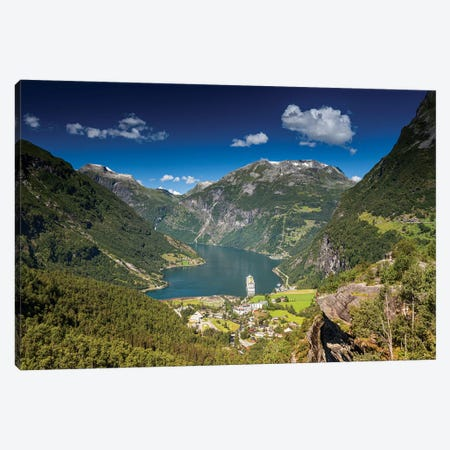 Norway, Stryn VII Canvas Print #LAJ355} by Mikolaj Gospodarek Art Print