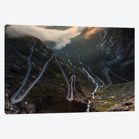 Norway, Trollstigen Canvas Print #LAJ356} by Mikolaj Gospodarek Art Print