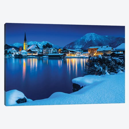 Germany, Bavaria, Tegernsee Mountain Lake Canvas Print #LAJ386} by Mikolaj Gospodarek Canvas Art