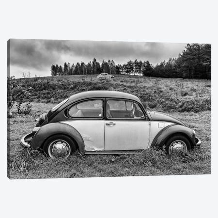 Volkswagen Beetle Canvas Print #LAJ387} by Mikolaj Gospodarek Canvas Artwork