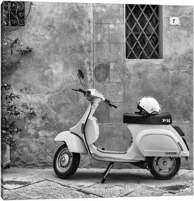 Italy, Vespa Canvas Art Print