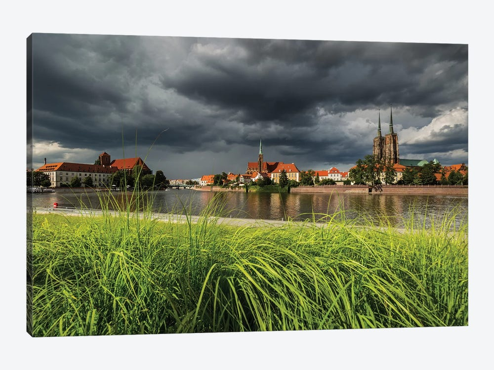 Poland, Wroclaw I by Mikolaj Gospodarek 1-piece Canvas Print