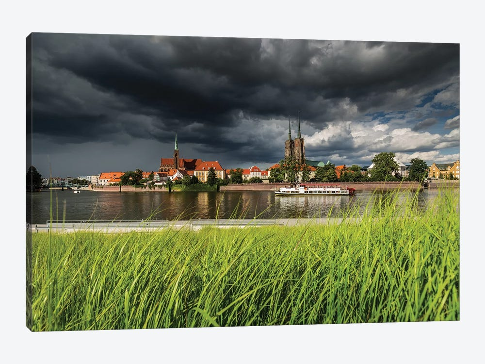 Poland, Wroclaw II by Mikolaj Gospodarek 1-piece Canvas Artwork