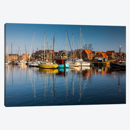 Netherlands, Urk Canvas Print #LAJ40} by Mikolaj Gospodarek Art Print