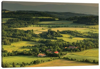 Poland, Sudetes Canvas Art Print