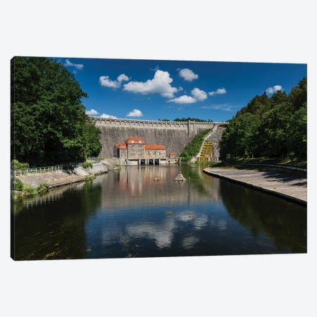 Poland, Pilchowice Water Dam Canvas Print #LAJ412} by Mikolaj Gospodarek Canvas Print